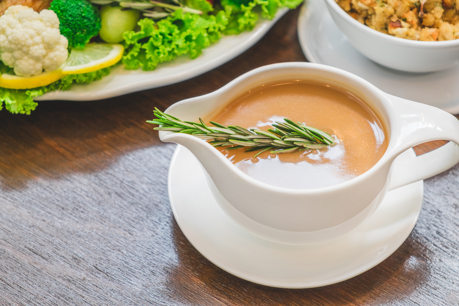 Thanksgiving and Vegetarian Gravy – Our Registered Dietitian's Recipe!