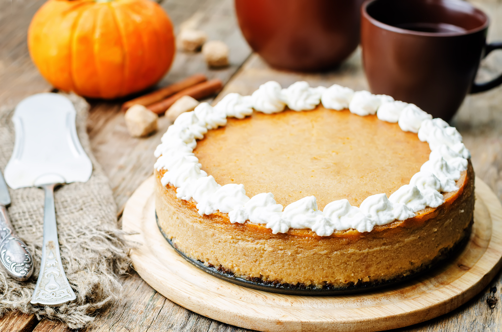 No-Bake Pumpkin Cheesecake: A Thanksgiving Dessert Recipe