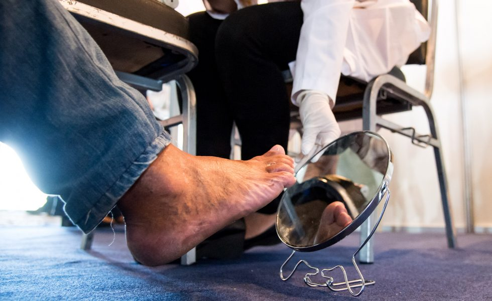 It's a pain in my FOOT – Diabetes Self-Management
