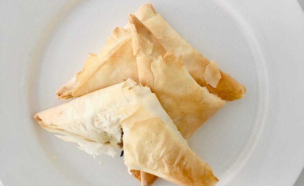 Recipe: Spanakopita (Feta & Spinach)